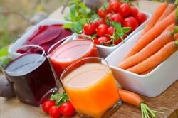 Соки свеклы и моркови для лечения эндометриоза